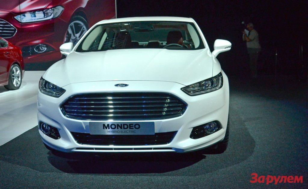 Новый гибридный Ford Mondeo