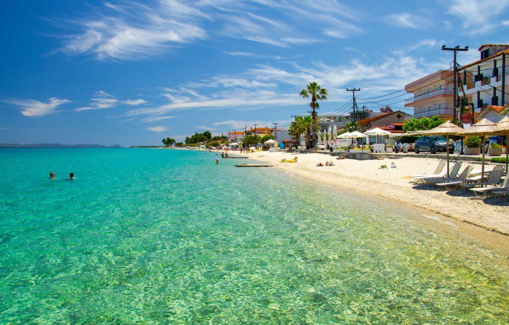 Пляж в Халкидики