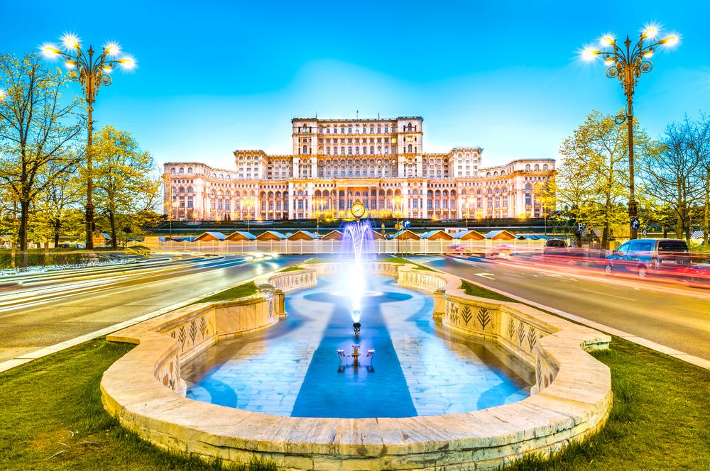 Дом Народа Румыния