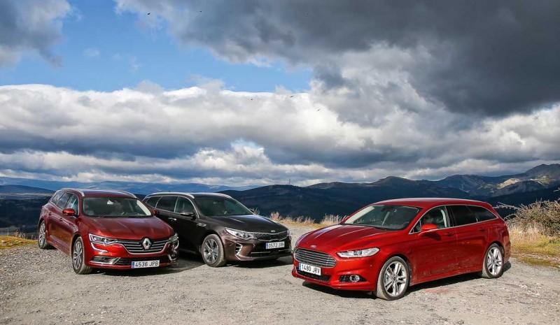 Kia Optima Ford Mondeo Renault Talisman