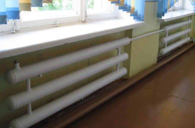 Регистры отопления широко используются в организациях, школах, больницах