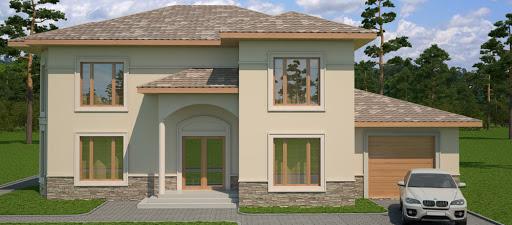 эскиз будущего дома