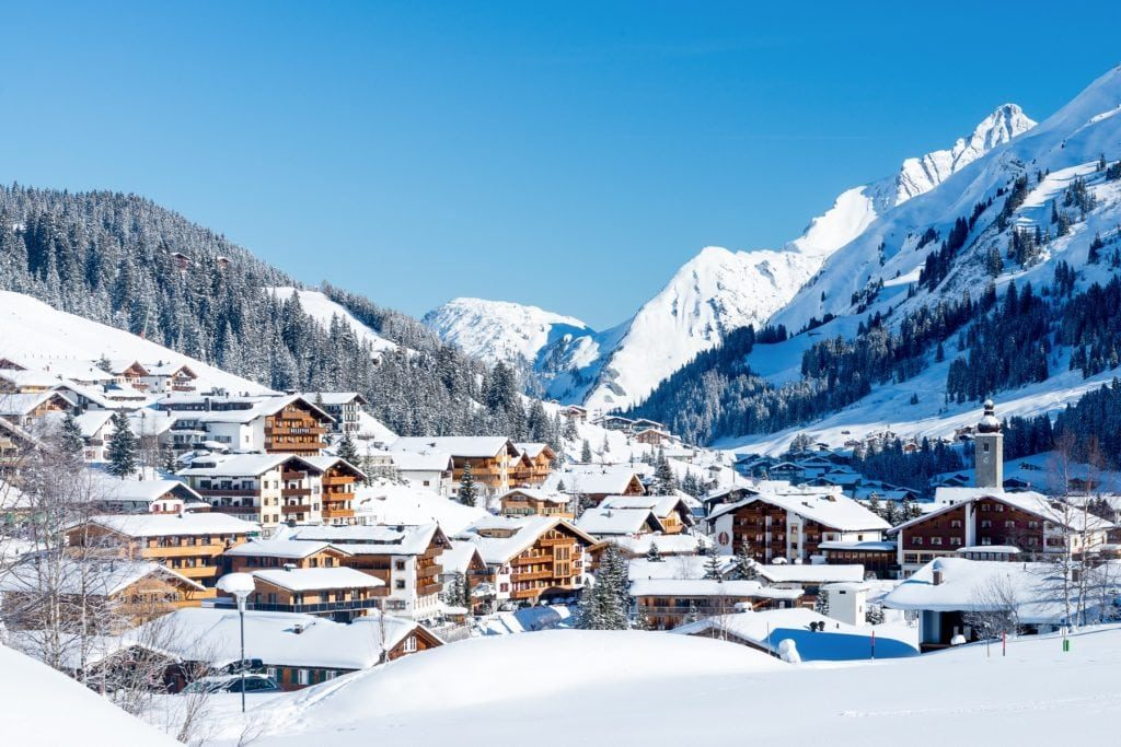 Лех, Австрия